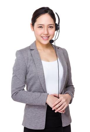 hotlink: Customer services agent