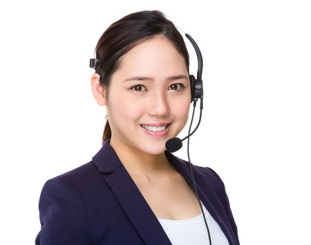 hotlink: Customer services operator