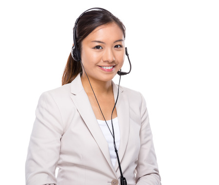 online service: Customer services operator