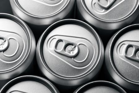 aluminum: Aluminum cans Stock Photo