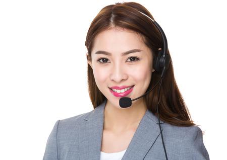 Mitarbeiter beim Kundendienst