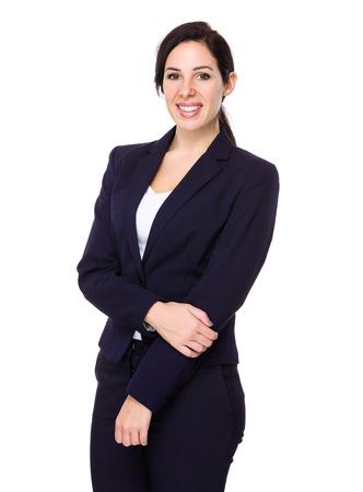 coworkers: Brunette businesswoman portrait