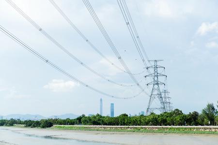 electricidad industrial: Torre de energ�a Electricidad