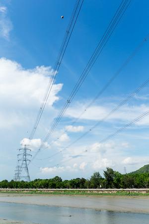 electric power station: Electric power station Stock Photo