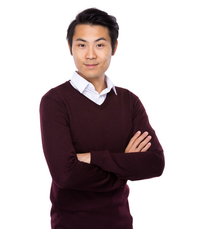 Asian young man portrait