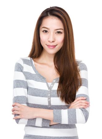 아시아 여자 초상화 스톡 콘텐츠