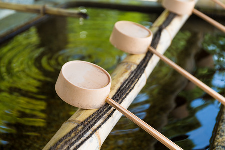 purification: Japanese purification ladle