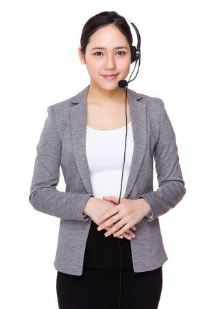 customer service representative: Telemarketing operator