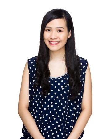 causal clothing: Asian woman