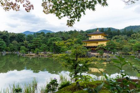 Kinkakuji Temple in Kyoto, Japan Stok Fotoğraf - 123128939