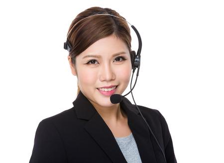 hotlink: Customer services representative