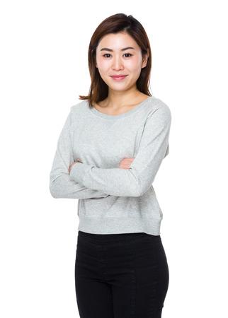 sweatsuit: Asian Woman