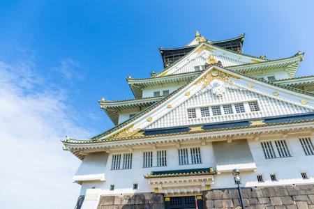 osakajo: Japanese osaka castle