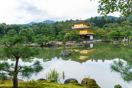 Golden Temple at Kyoto, Japan