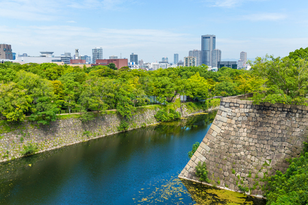 fortification: Fortification of Osaka Castle in Osaka Editorial
