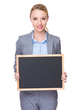 american banker: Caucasian young businesswoman Stock Photo