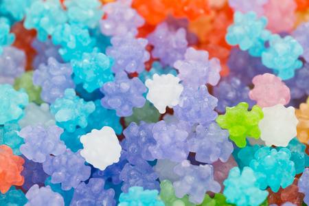 close up: Japanese candy close up Stock Photo
