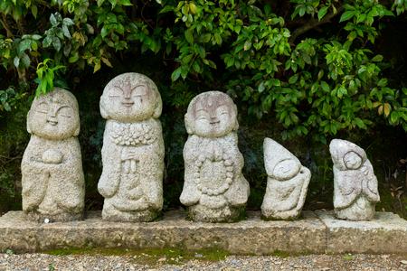 jizo: Nagomi jizo in japanese temple