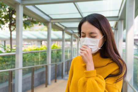 particulate: Woman got cold