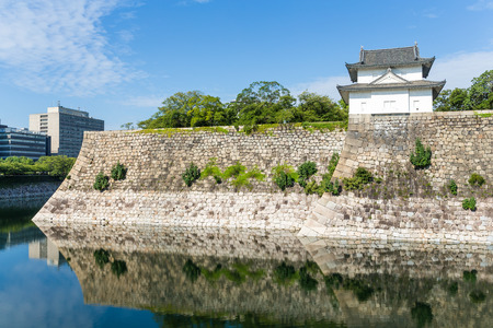fortification: Osaka Castle fortification Editorial