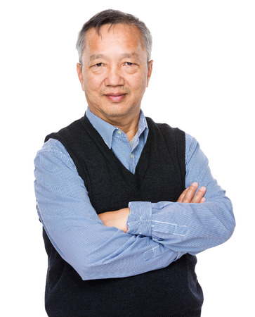 mature business man: Senior man Stock Photo