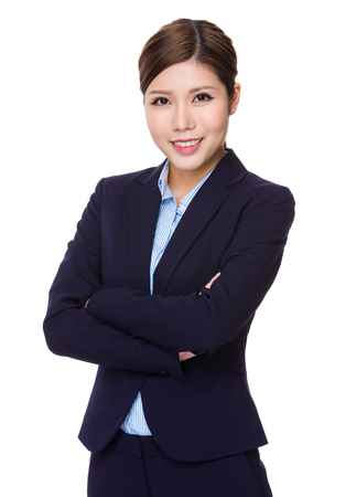 attractive businesswoman: Young Businesswoman portrait