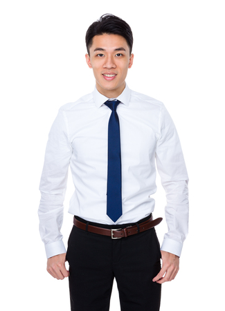 asian professional: Businessman Stock Photo