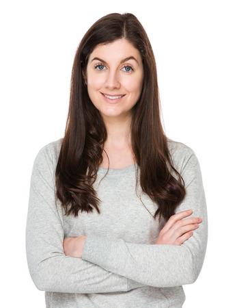 mujer alegre: Mujer Confidente