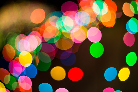 christmas paste: Bokeh. Abstract blurred light background