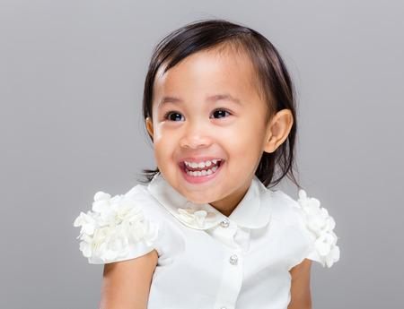 multiracial: Multiracial baby smile