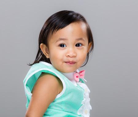 mixed race baby: Mixed race baby girl