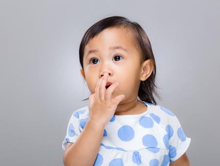 surprised baby: Surprised baby Stock Photo