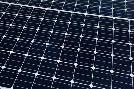 photovoltaic panel: Photovoltaic panel Stock Photo