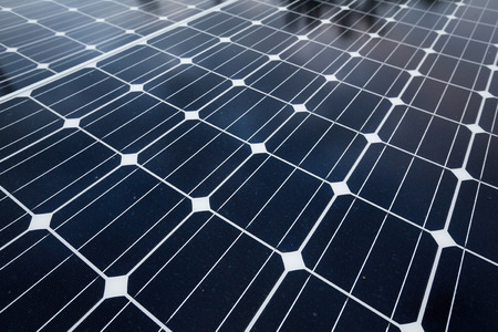forefront: Solar panel texture