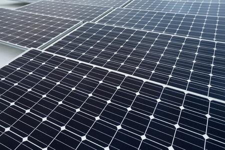 photocell: Solar power energy plant