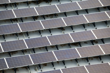 photoelectric: Solar power plant on roof top