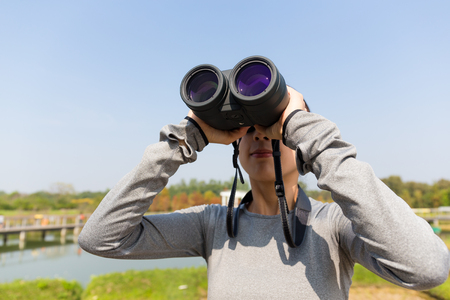 though: Woman discover though telescope