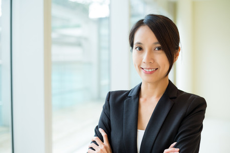 building planners: Businesswoman in office