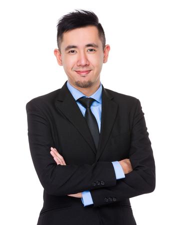 Aziatische zaken man Stockfoto