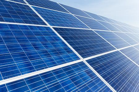 close up: Solar panel close up