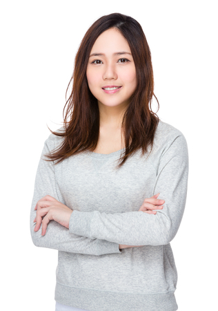 Aziatische vrouw Stockfoto - 60723577