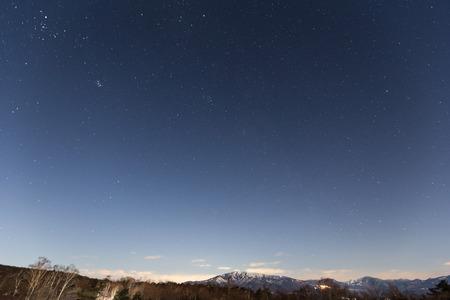 noche estrellada: Cielo estrellado