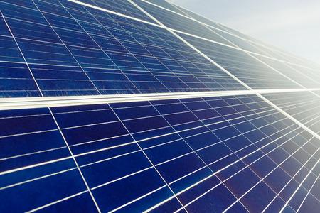 panel: Blue Solar Panel