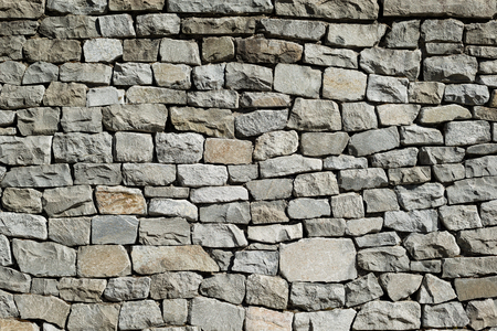 stacked stone: Stacked Stone Wall