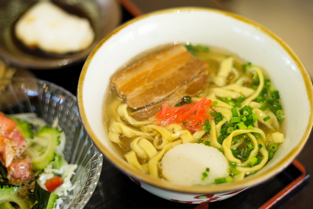 okinawa: Okinawa cuisine Stock Photo