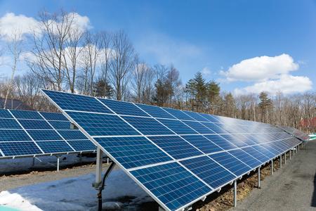 panel: Solar panel station