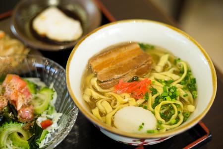 Cuisine of Okinawa Stock Photo