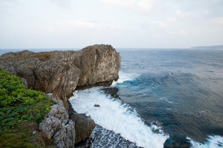 okinawa: Hedo Cape in Okinawa Stock Photo