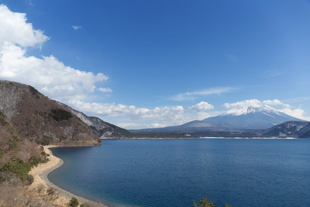 fujisan: Fujisan and lake