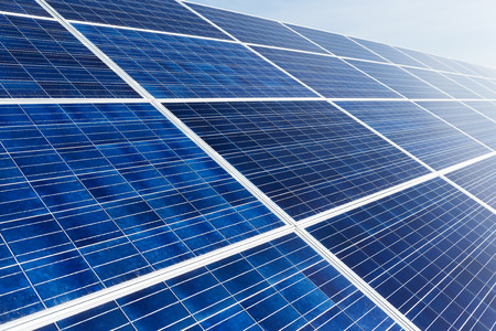 panel: Solar panel close up